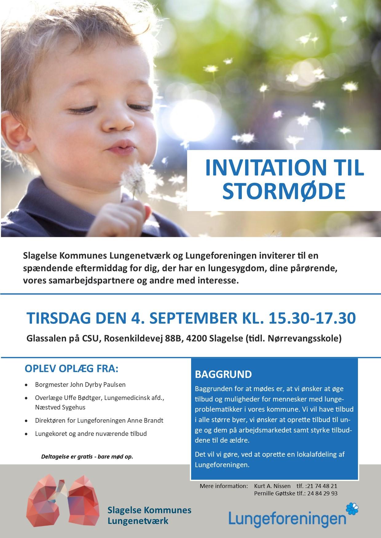 Invitation stormøde 3.0